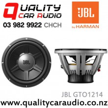 "JBL GTO1214 12"" (30cm) 1400W Single Voice Coil Car Subwoofer with Easy LayBy"