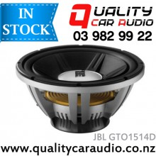 "JBL GTO1514D 15"" 1400W DUAL 4 ohm VOICE COIL SUBWOOFER with Easy Layby"
