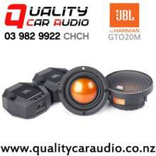 "JBL GTO20M 2"" 195W (65W RMS) Mid-Range Car Speakers with Crossover (pair) with Easy Finance"