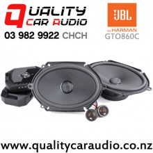 "JBL GTO860C 6x8"" 300W (100W RMS) 2 Way Component Car Speakers (pair) with Easy Finance"