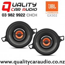 "JBL GX302 3.5"" 75W (25W RMS) 2 Ways Coaxial Car Speakers (pair) with Easy Finance"