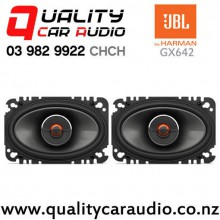 "JBL GX642 6x4"" 120W (40W RMS) 2 Ways Coaxial Car Speakers (pair) with Easy Finance"