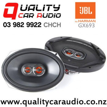 """JBL GX963 6x9"""" 300W (100W RMS) 3 Way Coaxial Car Speakers (pair) with Easy Payments"""