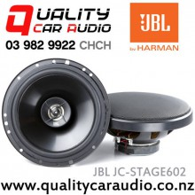"JBL JC-STAGE602 6"" 135W Max 2 Ways Coaxial Car Speakers (Pair) with Easy LayBy"