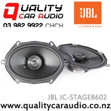 "JBL JC-STAGE8602 6x8"" / 5x7"" 180W Max 2 Way Coaxial Car Speakers with Easy LayBy"