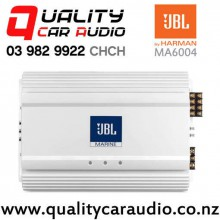 JBL MA6004 320W RMS 4 Channel Class AB Marine Amplifier with Easy Finance
