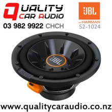 "JBL S2-1024 10"" 1000W (250W RMS) Switchable Impedance Component Car Subwoofer with Easy Finance"