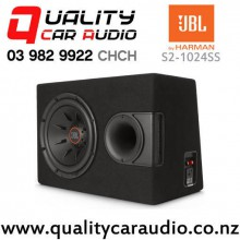 "JBL S2-1024SS 10"" 1000W (250W RMS) Sealed Subwoofer Enclosure with Easy Finance"