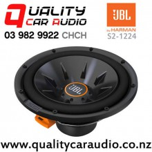 "JBL S2-1224 12"" 1100W (275W RMS) Switchable Impedance Component Car Subwoofer with Easy Finance"