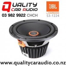 "JBL S3-1224 12"" 1500W (500W RMS) Switchable Impedance Component Car Subwoofer with Easy Finance"