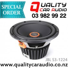 "JBL S3-1224 12"" 1500W component subwoofer - Easy LayBy"