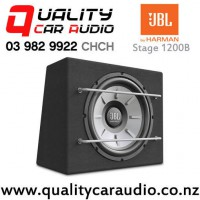 """JBL Stage 1200B 12"""" 1000W (250W RMS) 4 ohm Voice Coil Sealed Subwoofer Enclosure with Easy Finance"""