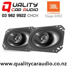 "JBL Stage 6402 6x4"" 105W (35W RMS) 2 Way Coaxial Car Speakers (pair) with Easy Finance"