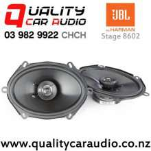 "JBL Stage 8602 6x8"" / 5x7"" 180W (60W RMS) 2 Way Coaxial Car Speakers (pair) with Easy Finance"