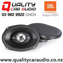 "JBL Stage 9603 6x9"" 210W (70W RMS) 3 Way Coaxial Car Speakers (pair) with Easy Finance"