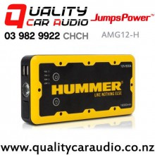 Jumps Power AMG12-H Hummer 12,000 mAH Jumpstarter with Power Bank and Led Torch with Easy Finance