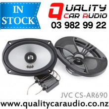 "JVC CS-AR690 6x9"" (15x23cm) 240W 2 Ways Coaxial Car Speakers (Pair) with Easy Layby"