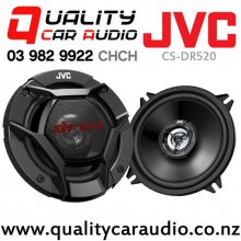 "JVC CS-DR520 5.25"" 260W (40W RMS) 2 way Coaxial Car Speakers (pair) with Easy LayBy"