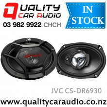 "JVC CS-DR6930 6x9"" 500W 3 Ways Coaxial Car Speakers (Pair) with Easy LayBy"