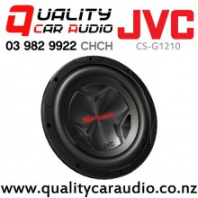 "Special Deal last 2 only! (Minit Box Damaged) JVC CS-G1210 12"" 1200W (250W RMS) Single 4 ohm Voice Coil Car Subwoofer with Easy Finance"