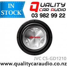 JVC CS-GD1210 12'' (30cm) 1400W dual Voice Coil Car Subwoofer with Easy Layby