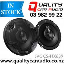 """JVC CS-HX639 6.5"""" (165cm) 320W 3 Ways Coaxial Car Speakers (Pair) with Easy Layby"""