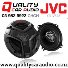 "JVC CS-V528 5.25"" (13cm) 220W 2 Ways Coaxial Car Speakers (Pair) with Easy Layby"