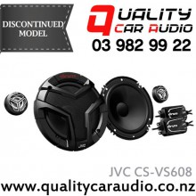 """JVC CS-VS608 6"""" / 6.5"""" (16cm) 300W 2 Ways Component Car Speakers (Pair) with Easy Layby"""