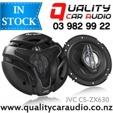 """JVC CS-ZX630 6.5"""" 300W 3 Ways Coaxial Car Speakers (Pair) with Easy LayBy"""