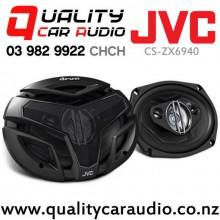 "JVC CS-ZX6940 6x9"" 550W 4 Ways Coaxial Car Speakers (Pair) with Easy Finance"