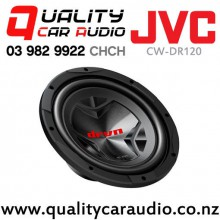 "JVC CW-DR120 12"" 1800W (300W) Single Voice Coil Car Subwoofer with Easy Layby"
