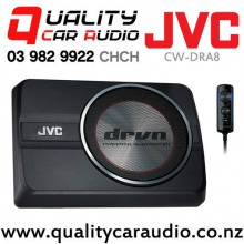 JVC CW-DRA8 250W (150W RMS) Under Seat Style Active Car Subwoofer with Easy Finance