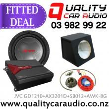 JVC CS-GD1210 + KS-AX3201D + SB012 + AWK-8G Combo Deal - Fitted Deal