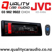 JVC KD-R486 CD USB AUX MP3 Android NZ Tuners 1x Pre Out Car Stereo with Easy Finance