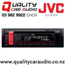 JVC KD-R496 CD USB AUX NZ Tuners 2x Pre Outs Car Stereo with Easy Finance