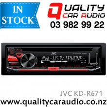 JVC KD-R671 CD USB AUX iPod Android NZ TUNERS 2x Pre Outs with Easy LayBy