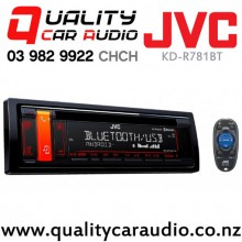JVC KD-R781BT Bluetooth USB AUX Android Control 2x Pre Out Car Stereo with Easy Finance