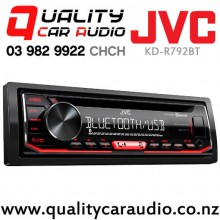 JVC KD-R792BT Bluetooth CD USB AUX NZ Tuners Car Stereo with Easy Finance