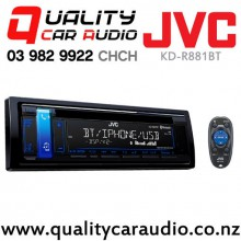 JVC KD-R881BT  Bluetooth CD USB iPod AUX NZ Tuners 3x Pre Outs Car Stereo with Easy Finance