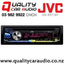 JVC KD-R971BT Bluetooth CD USB iPod AUX NZ Tuners 3x Pre Outs Car Stereo with Easy Layby