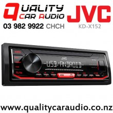Installation Deal! JVC KD-X152 USB AUX NZ Tuner 1x Pre Outs Car Stereo Fitted From $139 with Easy Finance