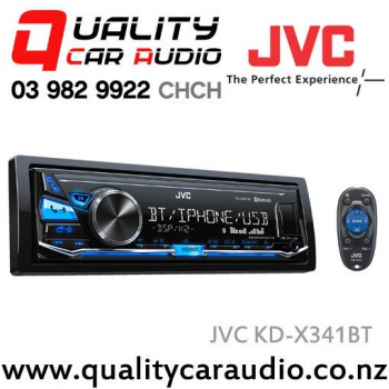 jvc kd x341bt bluetooth usb aux in apple android nz tuners 2x pre outs. Black Bedroom Furniture Sets. Home Design Ideas