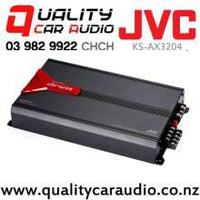 JVC KS-AX3204 800W 4/3/2 Channels Bridgeable Class AB Mosfet Power Car Amplifier with Easy Layby