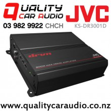 JVC KS-DR3001D 800W 1 Channel Class D Mono Power Car Amplifier with Easy LayBy