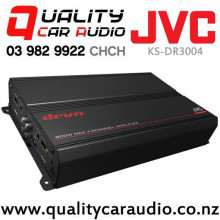 JVC KS-DR3004 800W 4/3/2 Channels Class AB Mosfet Power Car Amplifier with Easy Layby