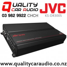 JVC KS-DR3005 5/4/3 Channels 1000W AB & Mono Bridgeable Power Car Amplifier with Easy Layby