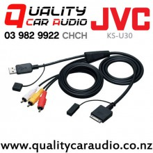 JVC KS-U30 USB Video Cable for iPod and iPhone
