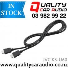 JVC KS-U60 / Kenwood KCA-HD100 HDMI CABLE - Easy LayBy