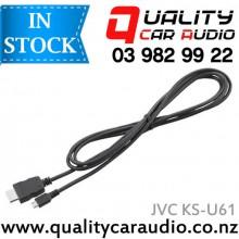 JVC KS-U61 / Kenwood KCA-MH100 MHL Cable - Easy LayBy