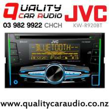 JVC KW-R920BT Bluetooth CD USB AUX ipod NZ Tuners 3x Pre Outs Car Stereo with Easy Layby